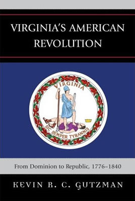 Book Cover - Virginia's American Revolution