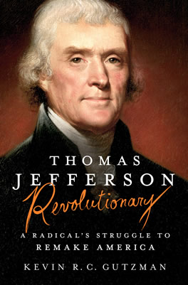 Book Cover - Thomas Jefferson - Revolutionary