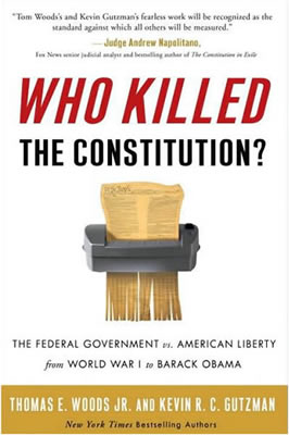 Book Cover - Who Killed the Constitution